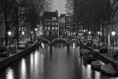 Netherlands, Amsterdam, Leidsegracht Stock Image