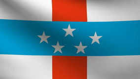 Netherlands Antilles flag Stock Image