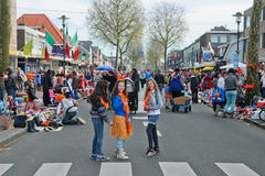 The Netherlands - April Festivity Royalty Free Stock Photography