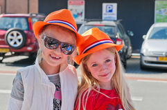 The Netherlands - April Festivity Royalty Free Stock Images