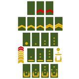 Netherlands Army insignia Royalty Free Stock Image