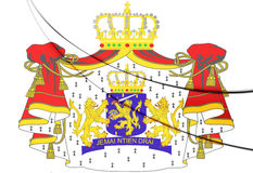 Netherlands Coat of Arms Royalty Free Stock Photos