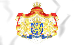 Netherlands Coat of Arms. Royalty Free Stock Photography