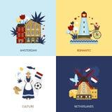 Netherlands Design Concept Royalty Free Stock Photos