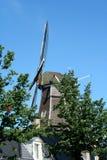 Life in the city of Meppel. Netherlands,Drenthe,Meppel, june2016: former cornmill,windmill 'de Weert stock image