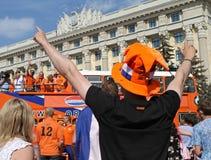 Netherlands fans Stock Photos