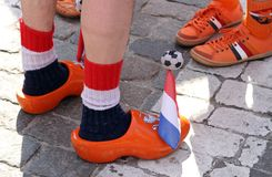 Netherlands fans Stock Photos