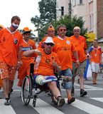 Netherlands fans Royalty Free Stock Photo