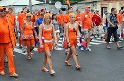 Netherlands fans Stock Image