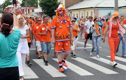 Netherlands fans Royalty Free Stock Photos