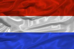 Netherlands Flag 3 Stock Photo