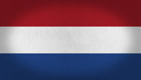 Netherlands Flag Royalty Free Stock Photo