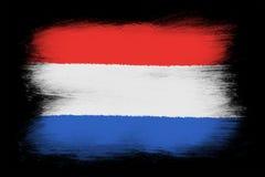 The Netherlands flag Stock Photo