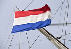 Netherlands flag waving Stock Image