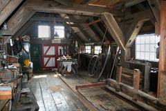 The woodsaw-mill de Rat in IJlst Royalty Free Stock Images