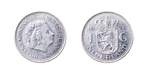 Netherlands gulden Stock Photo