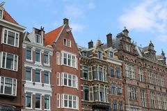 Netherlands houses architecture Royalty Free Stock Photos
