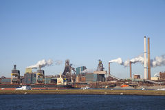 THE NETHERLANDS, IJMUIDEN - 16 JANUARY 2011 Stock Photography