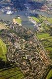 Netherlands landscape Royalty Free Stock Photos