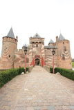 Netherlands: Muiderslot, a fairy tale castle Stock Photography