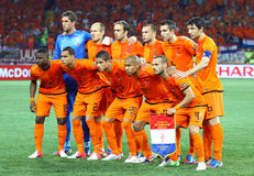Netherlands national football team Royalty Free Stock Photo
