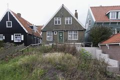 Poorly maintained House. Netherlands,North Holland,Marken, june2016: poorly maintained House Stock Photography