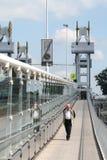 The city bridge of Kampen Stock Photo