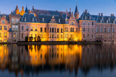 Netherlands Parliament Hague Stock Image