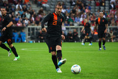 Netherlands Rafael van der Vaart Royalty Free Stock Images