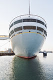 Netherlands, Rotterdam, Cruise ship at harbour Royalty Free Stock Photos