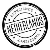 Netherlands rubber stamp Royalty Free Stock Photo