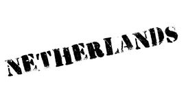 Netherlands rubber stamp Stock Photography