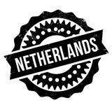 Netherlands rubber stamp Stock Images