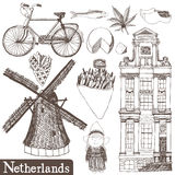 Netherlands set Stock Image