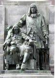 Brothers Johan and Cornelis de Witt, both politicians,. Netherlands,South Holland,Dordrecht june 2016:Brothers Johan and Cornelis de Witt, both lynched by a mob stock image