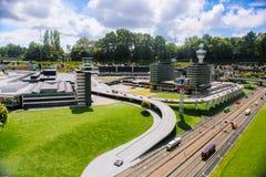 netherlands Tana Haag L'Olanda Meridionale Parco miniatura Madurodam Luglio 2016 fotografia stock libera da diritti