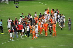 Netherlands team celebrate Stock Image