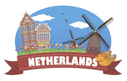 Netherlands. Tourism and travel Royalty Free Stock Photography