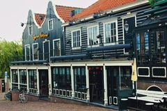 Netherlands. Volendam street view. Europe. Netherlands. Volendam street view royalty free stock photo