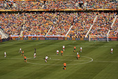 Netherlands vs Denmark - FIFA WC 2010 Stock Photo