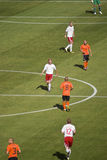 Netherlands vs Denmark - FIFA WC 2010 Royalty Free Stock Photo