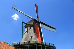 Netherlands windmill Stock Image