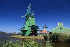 Netherlands windmills Stock Photography