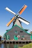 Netherlands, Zaanse Schans, windmill Stock Images