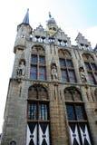 City hall of Veere. Netherlands,Zeeland,Walcheren,Veere, july2016:City hall of Veere royalty free stock images