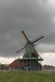 netherlandwindmill Arkivbild