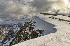 Nethermost Pike, a Mountain in The English Lake District. Stock Photos