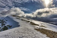 Nethermost Pike, a Mountain in The English Lake District. Royalty Free Stock Image