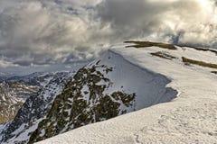 Nethermost szczupak, góra w Angielskim Jeziornym okręgu Zdjęcia Stock