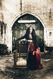 Netherworld queen stuck in never never land Royalty Free Stock Images